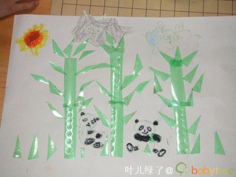 折纸---蝴蝶   折纸----飞机   自由创意----粘贴画