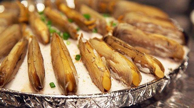 孕妇不能菜哪些食物之蛏子缢蛏,竹蛏,大竹蛏,海指甲,鲜子,西施舌
