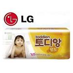 LG尿不湿黄土版纸尿裤M号46片
