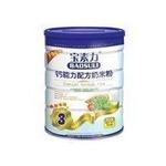 宝素力3段钙能力奶米粉520g