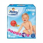 爱婴舒坦Fixies经典系列婴儿纸尿裤XL18片