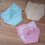 金贝利魔术贴婴儿纯棉布尿裤