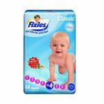 爱婴舒坦Fixies经典系列婴儿纸尿裤L+44片