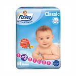 爱婴舒坦Fixies经典系列婴儿纸尿裤S64片