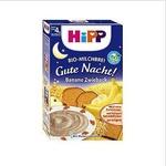 喜宝HiPP有机香蕉面包牛奶晚餐燕麦晚安米糊