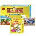 华亨营养鱼肉松+牛肉胡萝卜营养面+蛋黄饼干