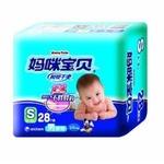 妈咪宝贝瞬吸干爽纸尿裤中包装S男28片