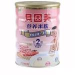 贝因美2段胡萝卜番茄营养米粉437g
