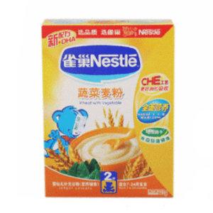 雀巢2段蔬菜麦粉