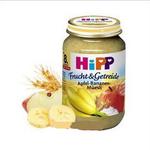 喜宝hipp有机苹果+香蕉+牛奶什锦果泥