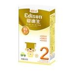 爱迪生较大婴儿配方奶粉2段400g/盒