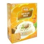 百乐麦猪肝蒸菠菜颗粒面2段