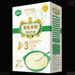 雅因乐3段果蔬多维有机米粉250g