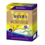 宝素力2段乳清蛋白奶米粉250g