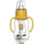 贝美天使MA85弧形自控流量高级防胀气自动有耳感温奶瓶