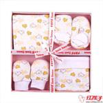 卡米卡玛针织四件套(粉色)礼盒装