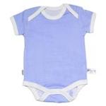 babyglow贝若星体温检测婴儿服蓝色内衣3-6个月