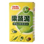 嘉华妈妈绿色果蔬泥120g(黄瓜+青柠+猕猴桃)