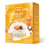 百乐麦三文鱼烩香姑颗粒面2段255g(1-3岁)