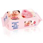强生婴儿护肤柔湿巾(无香型)80片