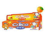 纳爱斯伢牙乐(鲜鲜橙子)儿童牙膏40g