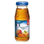 嘉宝苹果胡萝卜汁 175ml(6个月以上)