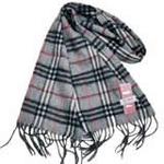 恒源羊绒羊毛加厚保暖男士长围巾礼盒装SFBX180-85小巴格灰色
