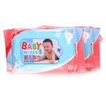 康恋婴儿80片护肤湿巾