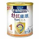 雀巢超级能恩1段配方奶粉900g