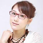 爱家防辐射眼镜AJZS-09红色