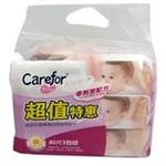 爱护婴儿无香棉柔湿巾80片*3包