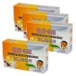 维塔卡尼VD果奶钙片24片*4盒