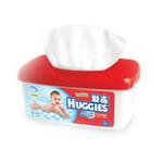 好奇清爽洁净婴儿柔湿巾80抽盒装