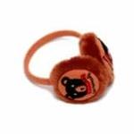 lemonkid小熊耳罩棕色