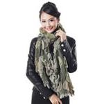 柏汇优品加厚保暖意大利风情长围巾BH3232金绿色