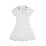 加菲猫女童针织网球裙GHWD35203漂白130