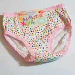 女儿霞童裤两条装(140)