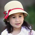 lemonkid红绳子草莓草帽