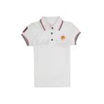 加菲猫女童POLO领短袖T恤GTWD35205漂白色140