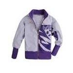 加菲猫女童蝙蝠袖外套GJWD55604紫条150