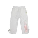加菲猫女童针织七分裤GPWD35403白色110