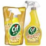 晶杰厨房强效清洁剂(清雅恬姜)+补充袋装(500g+400g)