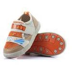哈利宝贝夏款童鞋软底透气网鞋男女童凉鞋B182橙色17码/135mm