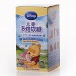 迪士尼儿童多维软煻(维尼)2.5克*60粒