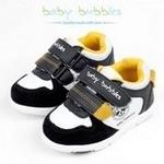 babybubbles婴童鞋156-6002-121白/黑24/160