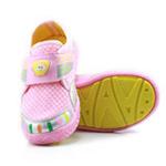 哈利宝贝男女童运动鞋B257防滑软底鞋透气网格粉色25码/150
