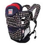 袋鼠仔仔时尚婴儿背袋DS6869宝蓝