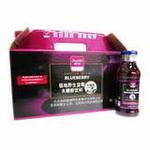 岭珍野生蓝莓木糖醇果汁整箱