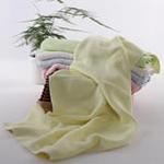 AngelDream安歌吉姆100%竹纤维大毛巾黄色AGZP2BB-Y