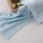 AngelDream安歌吉姆70%竹纤维小毛巾蓝色AGZD2A-B